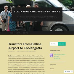 Transfers From Ballina Airport to Coolangatta