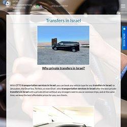 Transfer service in Israel