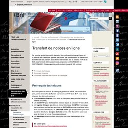 BNF Notices