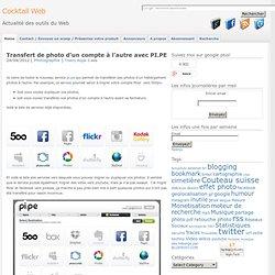 Transfert de photo d'un compte à l'autre avec PI.PE