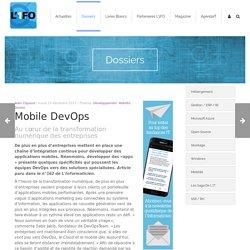 Mobile DevOps L'1FO : Fil d'actus transfo numérique, RGPD, IA, SSI, RV, cybersociété...