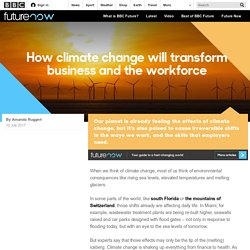Future - How climate change will transform business and the workforce