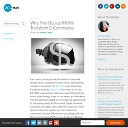 Why The Oculus Rift Will Transform E-Commerce - 2Checkout Blog