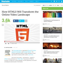 How HTML5 Will Transform the Online Video Landscape