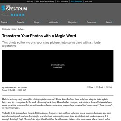 Transform Your Photos with a Magic Word
