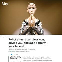 AI will transform religion with robot priests like this one