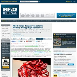 RFID Helps Target Transform Holiday Shopping Experience