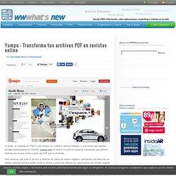Yumpu – Transforma tus archivos PDF en revistas online