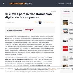 10 claves para la transformación digital de las empresas
