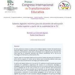 Congreso de Transformación Educativa