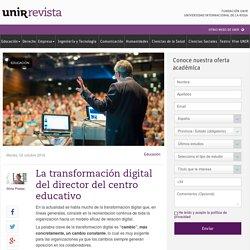 La transformación digital del director del centro educativo