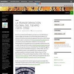 La transformación global del tiempo (1870–1950)