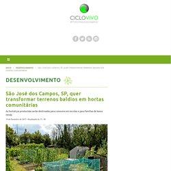 São José dos Campos, SP, quer transformar terrenos baldios em hortas comunitárias – CicloVivo