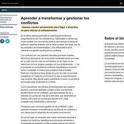Aprender a transformar y gestionar los conflictos - Convivencia y educación en valores » Convivencia y educación en valores