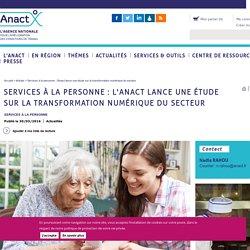 Services à la personne : l'Anact lance une étude sur la transformation numérique du secteur
