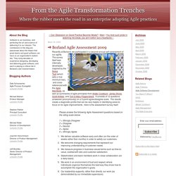 From the Agile Transformation Trenches: Borland Agile Assessment 2009