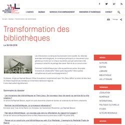 Transformation des bibliothèques