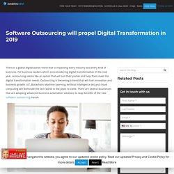 Software Outsourcing will propel Digital Transformation in 2019 - Dallas-BorderlessMind