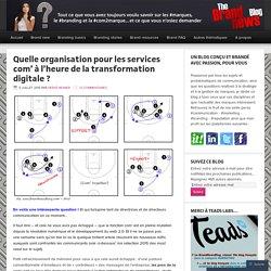 Quelle organisation pour les services com' à l'heure de la transformation digitale