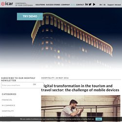 Digital transformation in the tourism and travel sector: the challenge of mobile devices