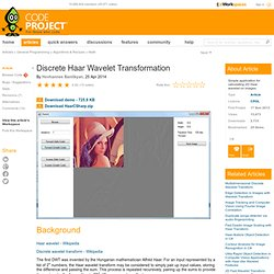 Discrete Haar Wavelet Transformation