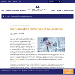 Transformation numérique et collaboration