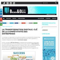 La transformation digitale, clé de compétitivité des entreprises