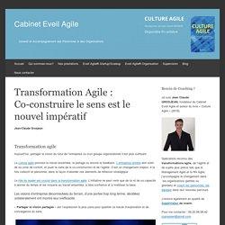 Transformation Agile : Co-construire le sens est le nouvel impératif