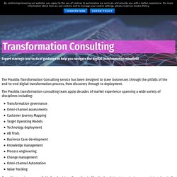 Transformation Consulting Praxidia