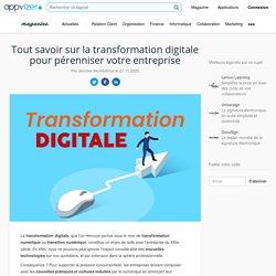 Transformation digitale ▶︎ définition, enjeux de la transition numérique, exemple et outils digitaux