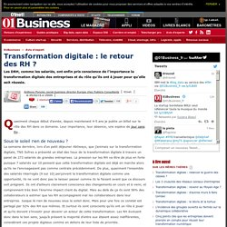Transformation digitale : le retour des RH ? par @aponcier