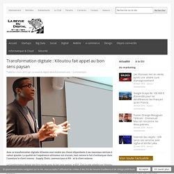 Transformation digitale : Kiloutou fait appel au bon sens paysan