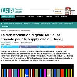 La transformation digitale tout aussi cruciale...