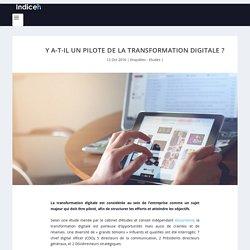 Y a-t-il un pilote de la transformation digitale ? - IndiceRH