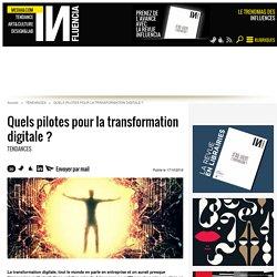 Quels pilotes pour la transformation digitale ?