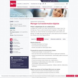 Manager la transformation digitale
