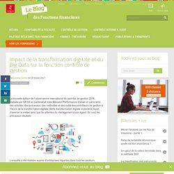 La transformation digitale, Big Data et contrôle de gestion