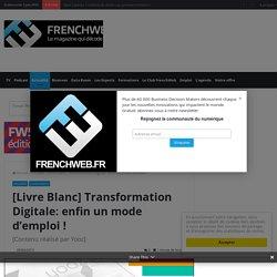 [Livre Blanc] Transformation Digitale: enfin un mode d'emploi !