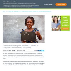 ONG : quel impact de la transformation digitale sur les donateurs ?