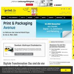 Die vier Denkfehler zur digitalen Transformation in der Druckindustrie › Print.de
