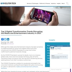 Digital Transformation Trends Media and Entertainment 2021