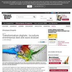 Transformation digitale : la culture d'entreprise doit elle aussi évoluer