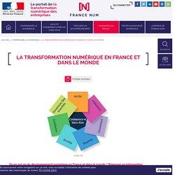 La transformation numérique en France et dans le monde