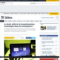 Le droit, allié de la transformation numérique dans les entreprises !