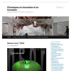 Chroniques en innovation et en formation