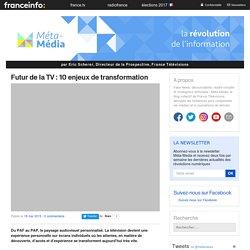 Futur de la TV : 10 enjeux de transformation