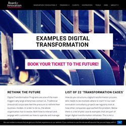 Digital Transformation Examples - Board of Innovation