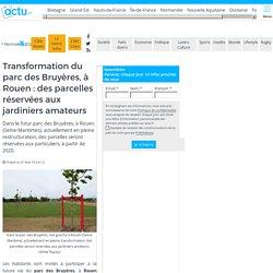 Transformation du parc des Bruyères, à Rouen : des parcelles réservées aux jardiniers amateurs
