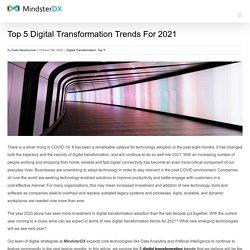 Top 5 Digital Transformation Trends For 2021