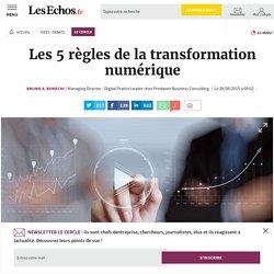 Les 5 règles de la transformation numérique, Le Cercle